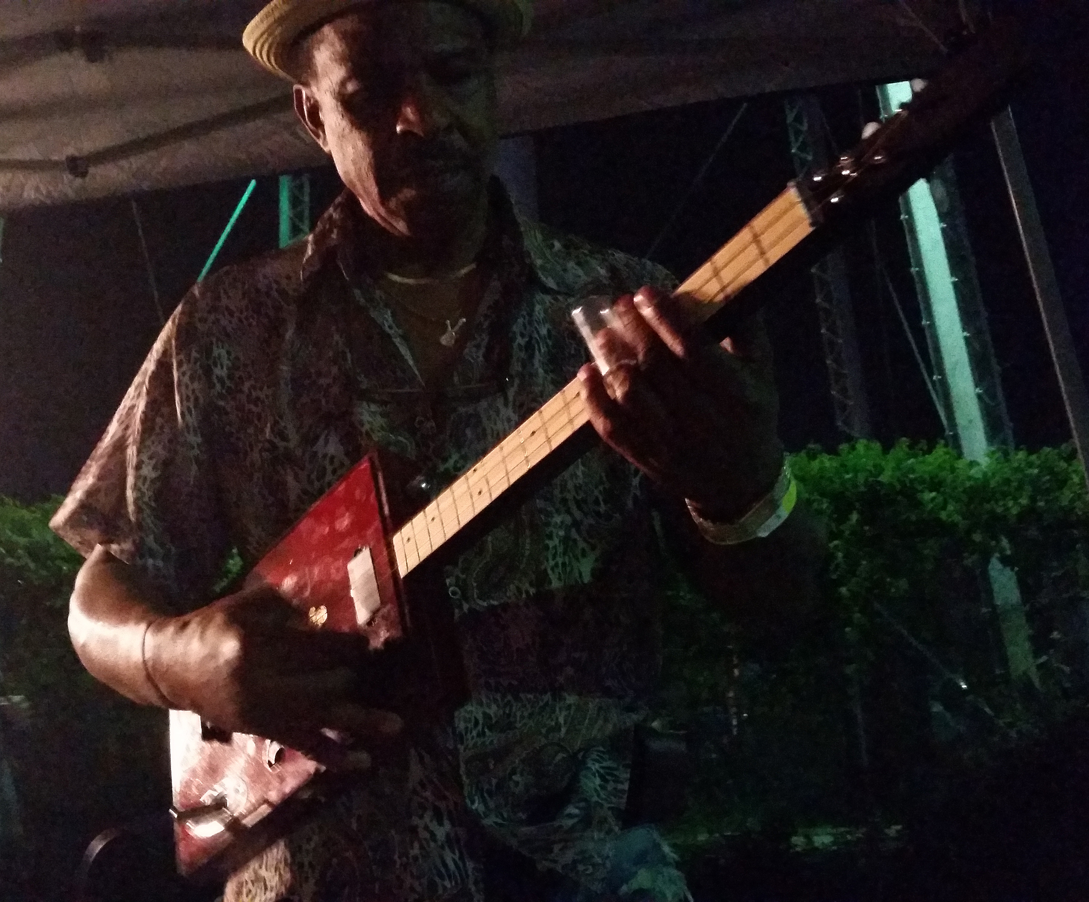 "Earl ""Guitar"" Williams playing Arnold Kelly Guitar 2"