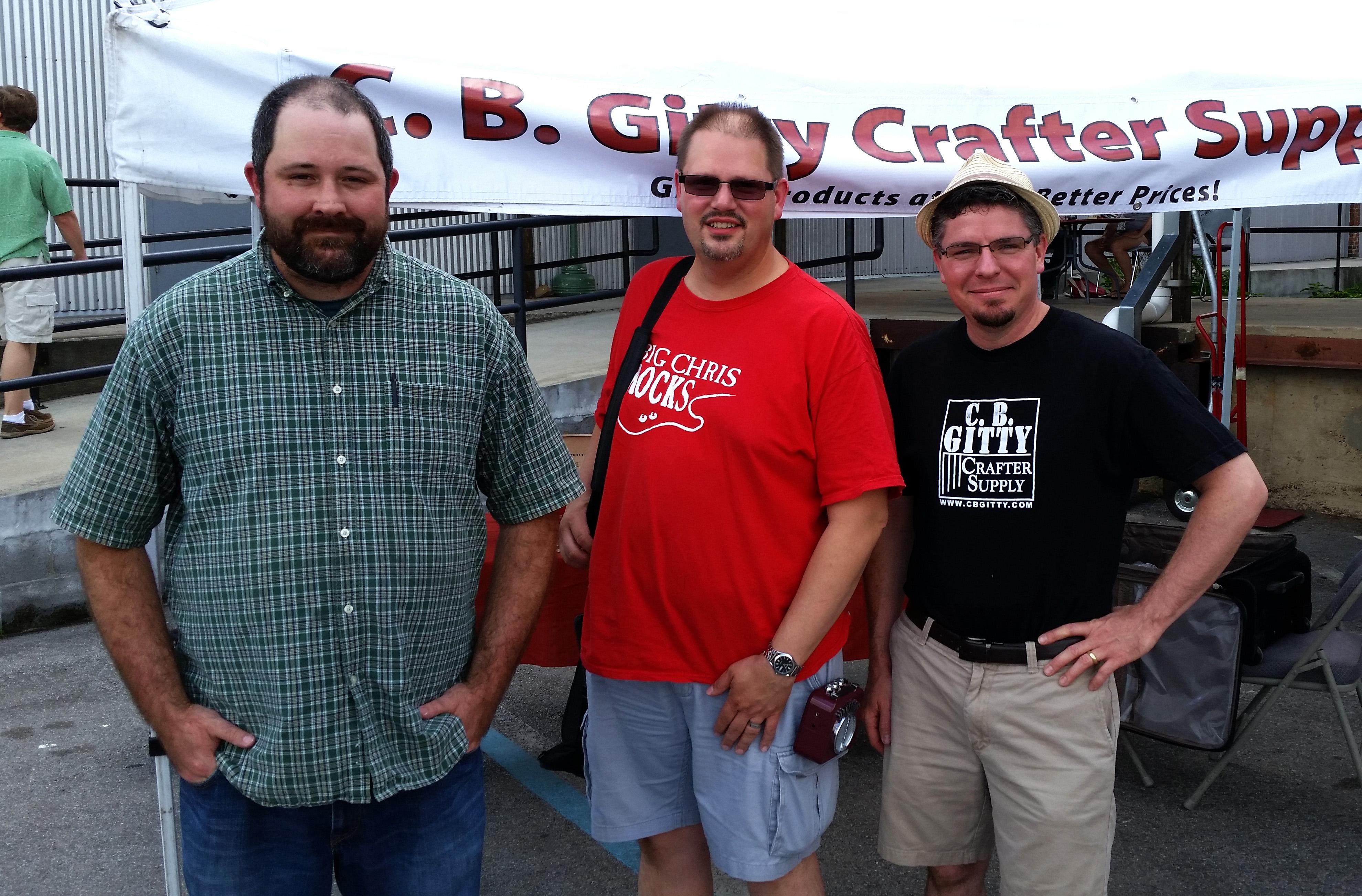 Jacob Blackwood, Chris Dickens and Gitty