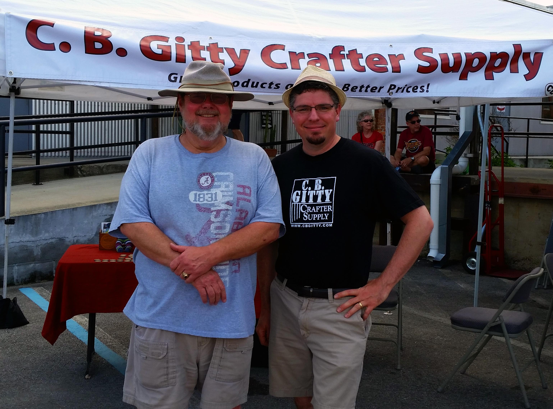 Jim Burt and Gitty