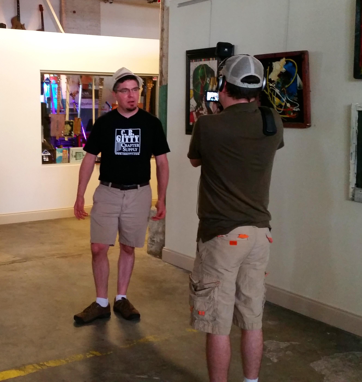 Jon Miller Interviewing Gitty 2
