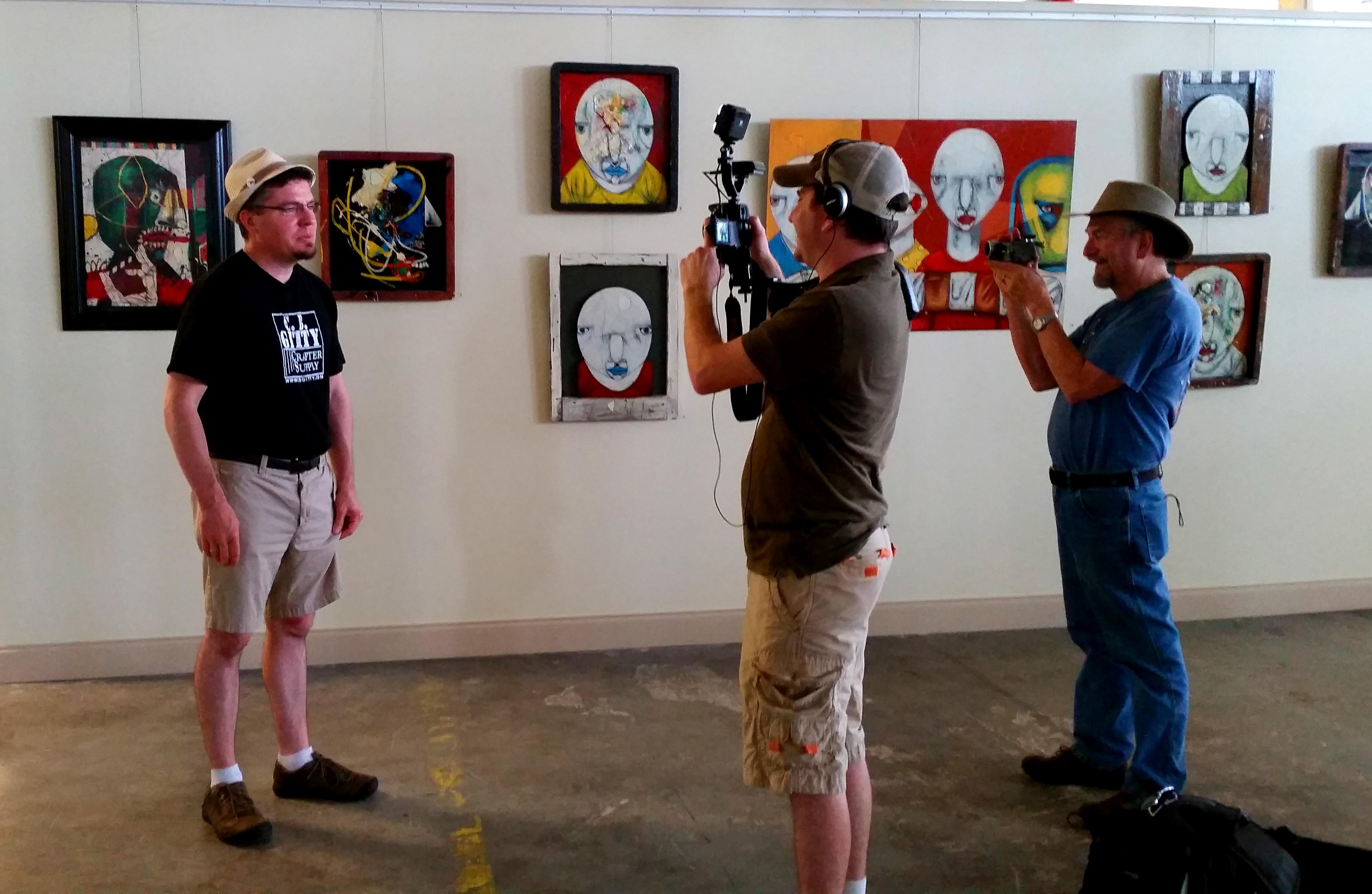 Jon Miller Interviewing Gitty