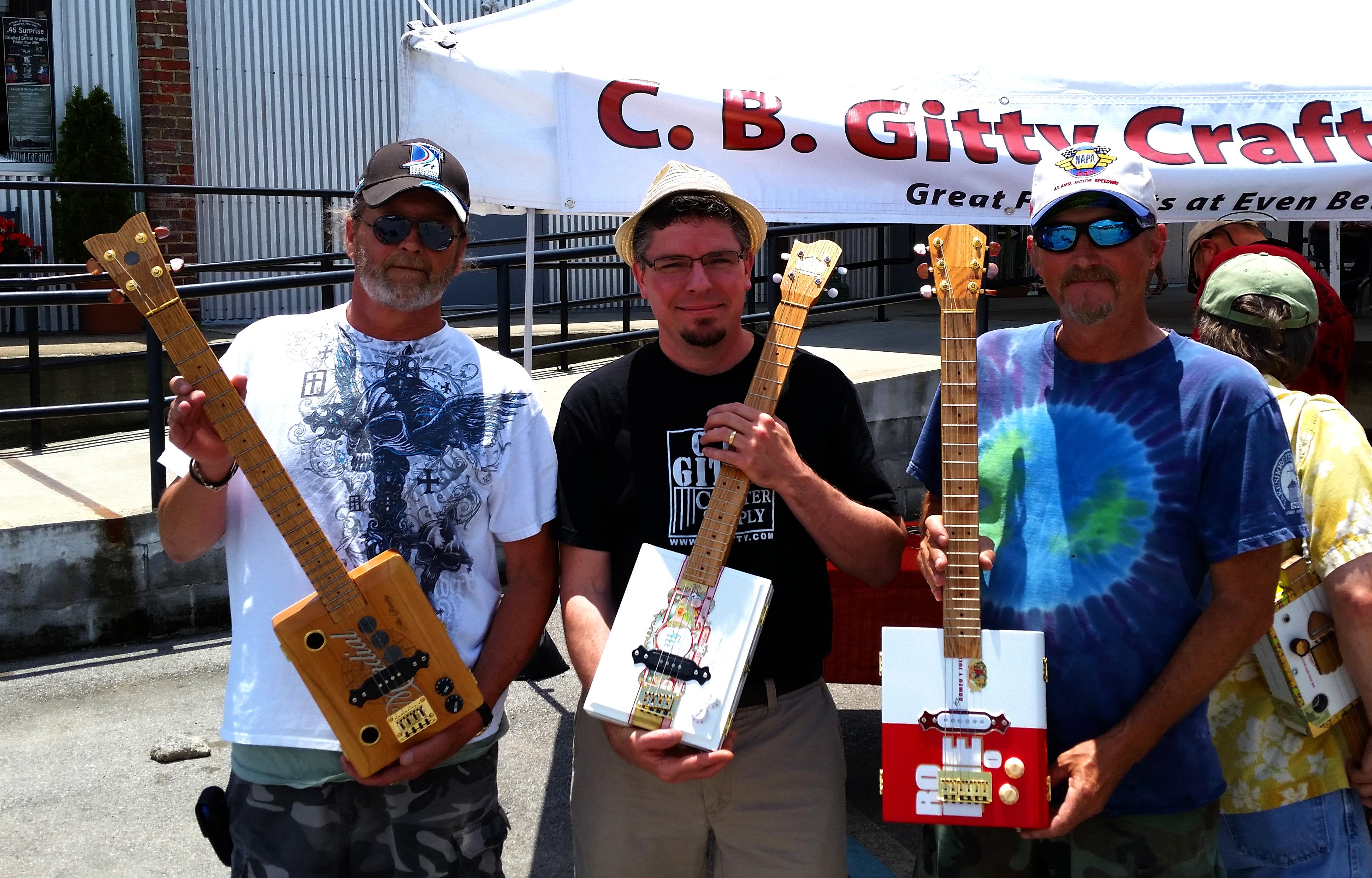 Keith DeArmond, Gitty and Jeff Mooneyham