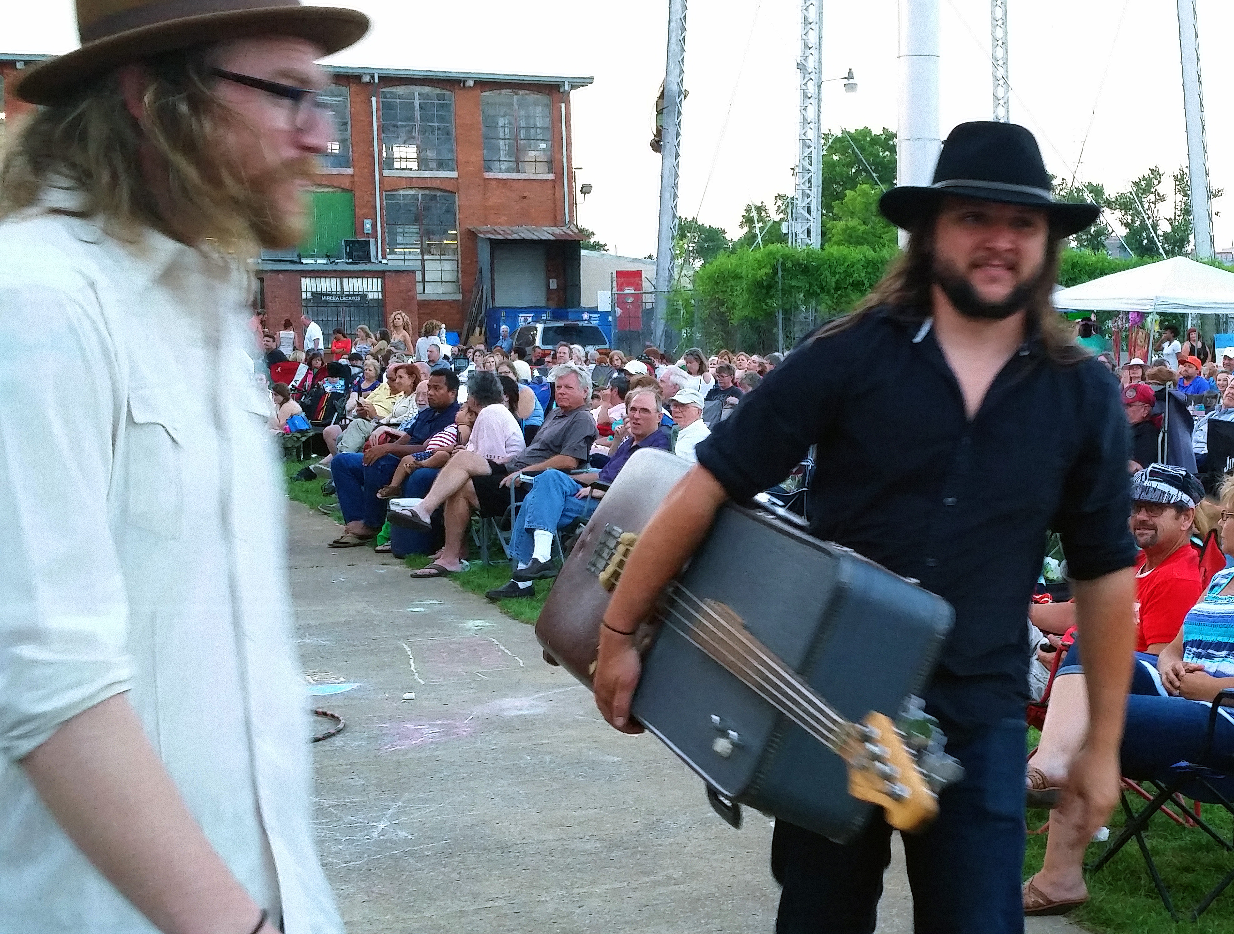 Mulligan Brothers on the Move with Suitcase Bass