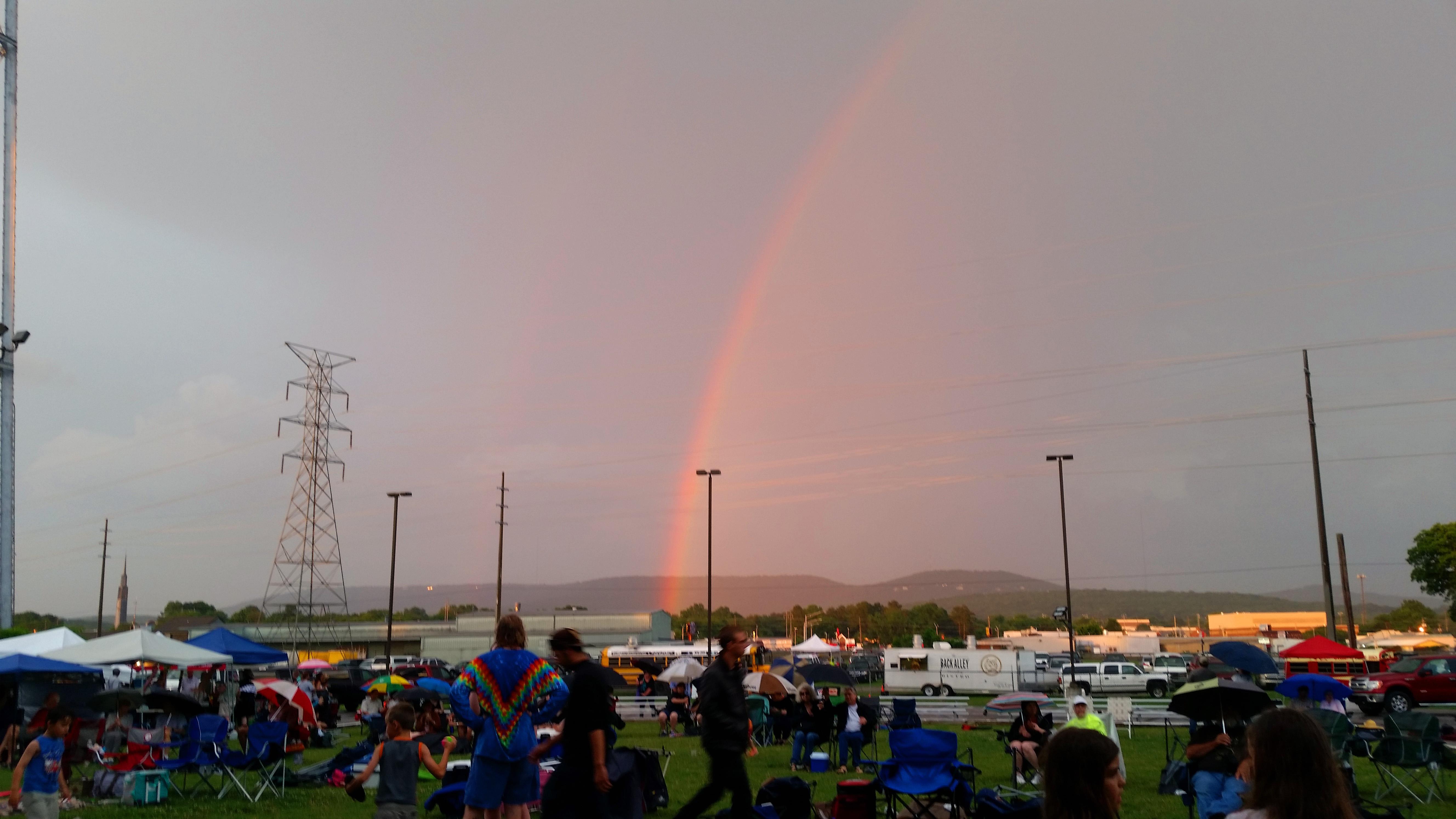 Rainbow over Huntsville