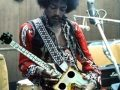 Fake photo of Jimi Hendrix with Cigar Box Guitar
