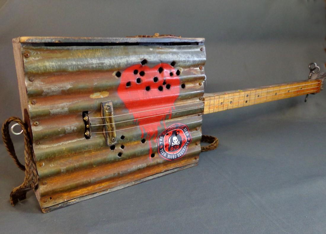 how to build a cigar box guitar video by glenn watt. Black Bedroom Furniture Sets. Home Design Ideas