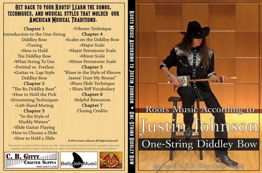 Justin Johnson Diddley Box How-to-Play DVD