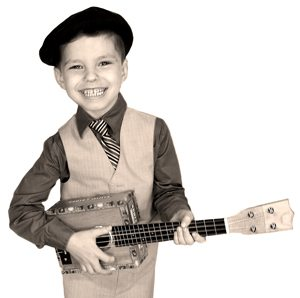 Cigar Box Ukulele Boy