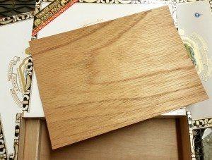 Cigar Box Thin Wood Inserts