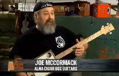 John Nickel and Joe McCormack talk Cigar Box Guitars on Absolutely Alabama TV Show