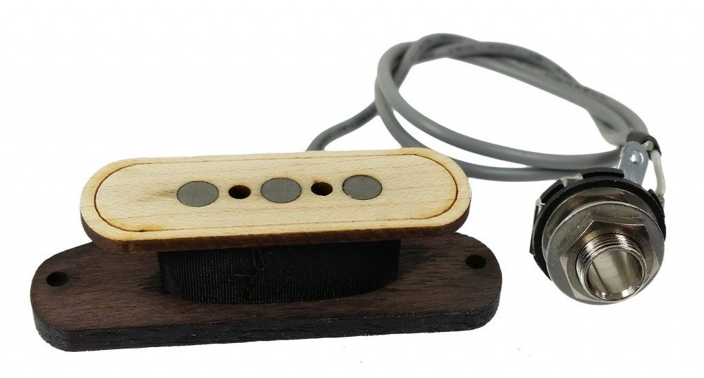 Electric Delta 3-pole Cigar Box Guitar Pickup