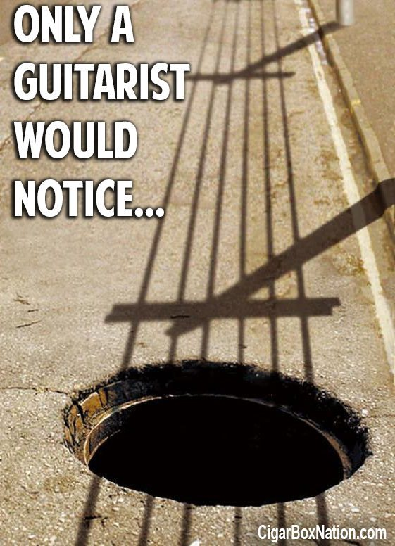 only a guitarist
