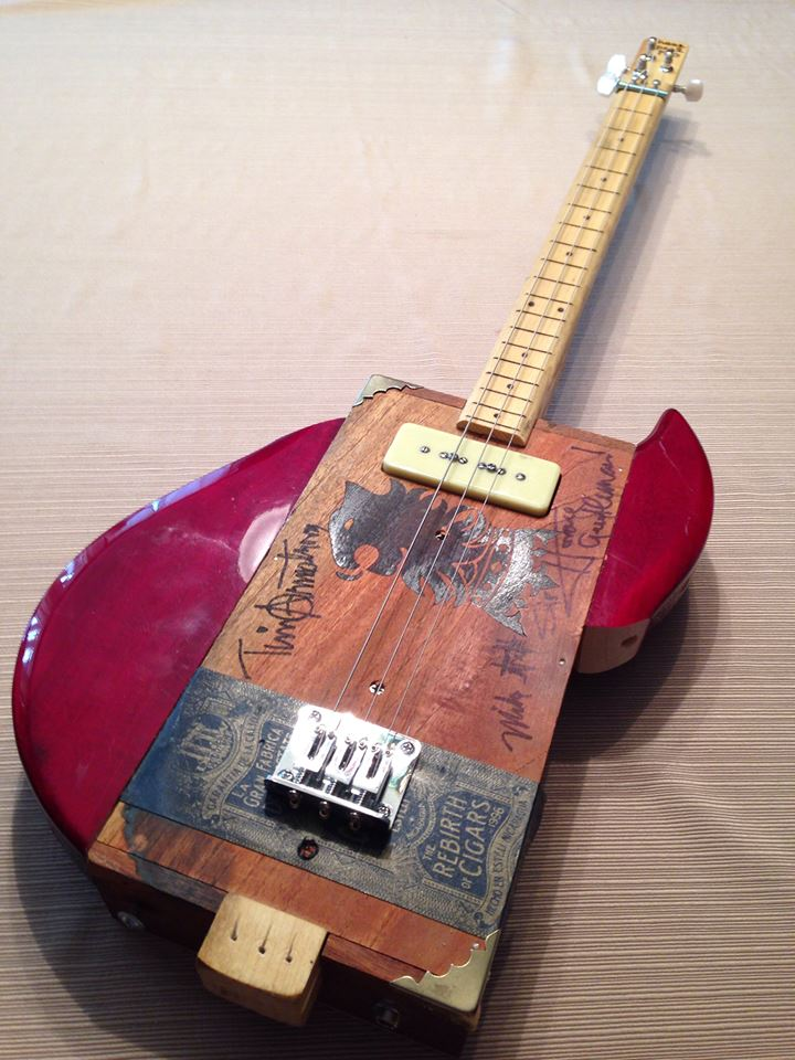 Mutated Cigar Box Guitar The How To Repository For The Cigar Box