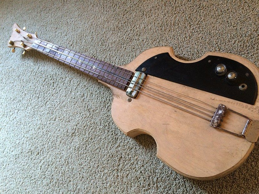 Vintage homemade bass lap steel the legacy of our instruments bass 1 solutioingenieria Choice Image