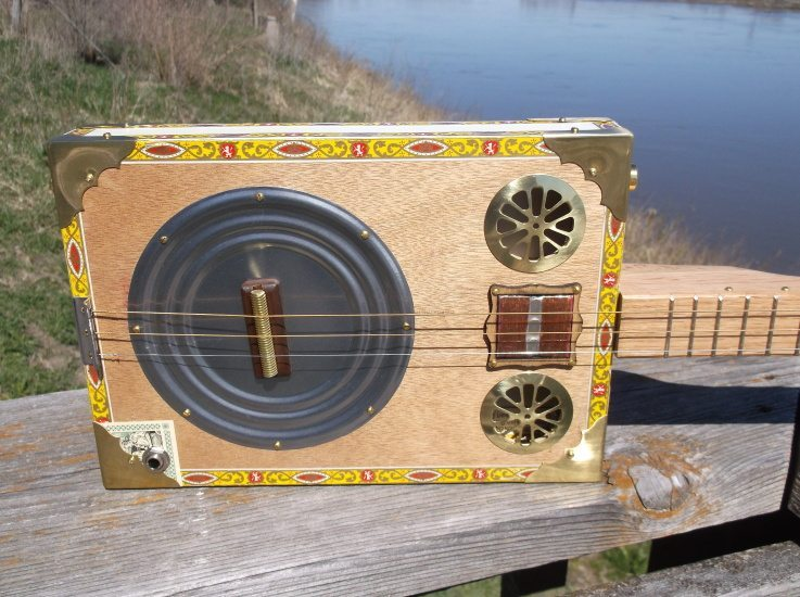 how to play cigar box guitar