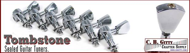 Chrome Tombstone Tuners from C. B. Gitty